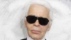 """Karl Lagerfeld on Choupette: """"I'm commercial. She's not. She's spoiled to death"""""""