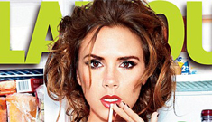 """Victoria Beckham on her pout: """"I only stopped smiling when I got into fashion"""""""