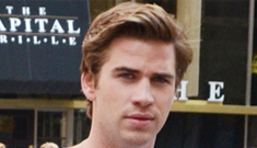 Is Miley Cyrus driving Liam Hemsworth 'nuts' on his   Philly film set?