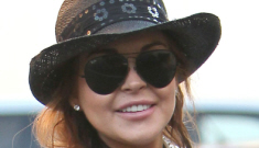 Lindsay Lohan went on a cracked-out shopping binge yesterday, because why not?