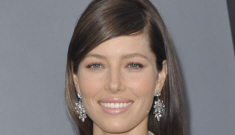 Jessica Biel in pink Dior for the 'Total Recall' premiere: too sweet or just right?
