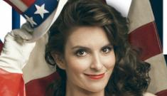 Tina Fey gets glammed up for Vanity Fair, reveals origin of trademark scar