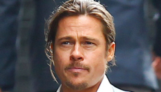 Brad Pitt in cowboy couture   on the UK set of 'The Counselor': hot or busted?