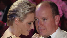 Princess Charlene in gold sequins in Monaco: lovely or unflattering?