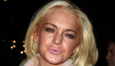 Lindsay Lohan crashed Francesca Eastwood's party, threw a crackie hissy fit