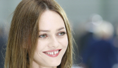 """Vanessa Paradis: """"Why would I fix my teeth? I can spit water through them"""""""
