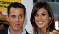 Elisabetta Canalis hits the red carpet with Steve O: they look like siblings, right?