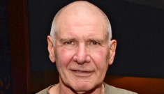 FYI: Harrison Ford shaved his head and now he looks like Ben Kinglsey