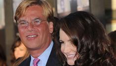 Aaron Sorkin & Kristin Davis split after 2 months of red carpet PDA bliss