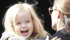 Vivienne Jolie-Pitt, age 4, will make her film debut with her mom in 'Maleficent'