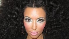 Kim Kardashian channels Diana Ross, Tan Mom: OMG, the worst thing ever?