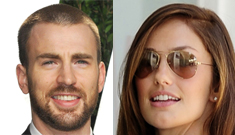 Chris Evans & Minka Kelly are hanging together in Boston, probably dating again