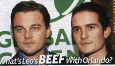 Leonardo DiCaprio thinks Orlando Bloom is lame