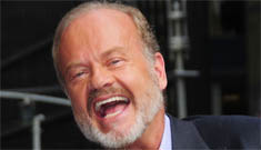 Kelsey Grammer refuses to say his ex wife Camille's  name, while he's trashing her