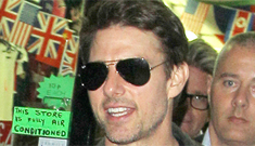 "Tom Cruise has ""emotionally wiped"" Katie from his mind, is now cruising for da ladies"