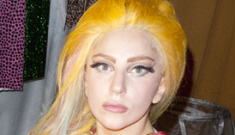 Lady Gaga poses for Terry Richardson, jokes about crackie Lindsay Lohan