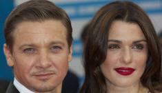 """Jeremy """"Vesty"""" Renner & Rachel Weisz in Deauville: lovely or budget?"""