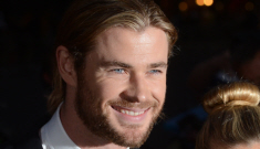 Chris Hemsworth at the GQ UK Men of the Year event: would you hit it?