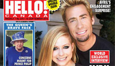 Avril Lavigne and Chad Kroeger are psyched that their anniversary is on Canada Day