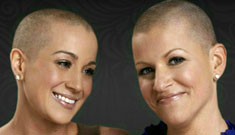 Kellie Pickler shaves her head in solidarity with her best friend who has breast cancer