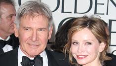 Enquirer: Calista Flockhart concerned Amber Heard   wants Harrison Ford?