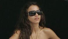 Jessica Alba in a bikini in Miami