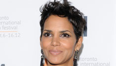 Halle Berry's 90s purple suit and see-through shirt at TIFF: try hard or hot?