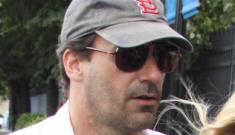 Jon Hamm goes scruffy, commando in NYC: glorious or gross?