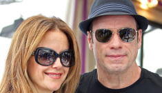 Did Kelly Preston buy herself some bolt-ons for her heterosexual husband?
