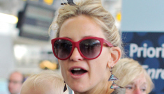 Kate Hudson shows off her 14-month-old baby Bingham   in Toronto: adorable?