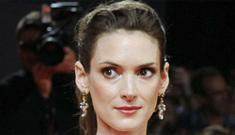 """Winona Ryder: """"I'm now 40 & I'm actually psyched for 40 & psyched to get older"""""""