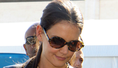 Katie Holmes debuts Holmes   & Yang at NYFW: much improved or still a mess?