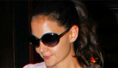 """Katie Holmes says she won't ever date an old """"geezer"""" like Tom Cruise again"""