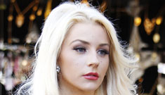 Did Courtney Stodden get a nose job, or did she just tone down the drag makeup?