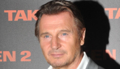 Did Liam Neeson secretly have a New York girlfriend for the past 6 months?