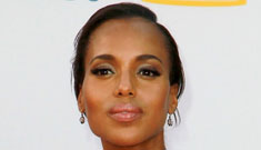 Kerry Washington in Vivienne Westwood at the Emmys: amazing or overdone?