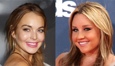 """Amanda Bynes can't stand """"that bitch"""" Lindsay Lohan, is trying to avoid her in NY"""