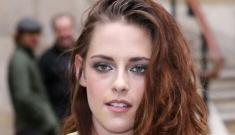 Kristen Stewart in Balenciaga for Paris Fashion Week: unwashed or cute?