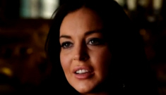 Lindsay Lohan interviewed for 'Liz & Dick' featurette: sad, bloated & funny?
