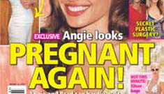 You guys called it: Life & Style calling Angelina pregnant