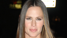Jennifer Garner in red Gucci at the 'Butter' screening in NYC: lovely or dated?