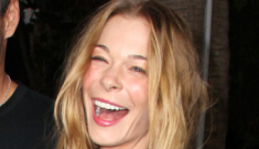 LeAnn Rimes steps out with her boys one week after leaving treatment facility