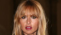 Rachel Zoe shows off her new bangs in Paris: they actually suit her, right?