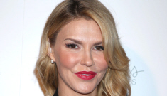 Brandi Glanville in an LBD in Beverly Hills: is she   overdoing the Botox?