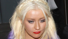 Christina Aguilera reveals rainbow extensions, new video: tacky or cute?