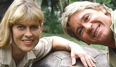 Terri Irwin receives video of her husband's death; his last show premieres soon