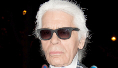 Karl Lagerfeld: 'What I hate most is flip-flops, I am physically allergic to flip-flops'