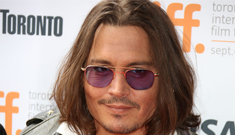 Johnny Depp serves as grand marshal of Comanche tribe parade: cool or grubby?