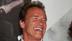 Arnold Schwarzenegger on his serial cheating: 'that's between Maria and me'
