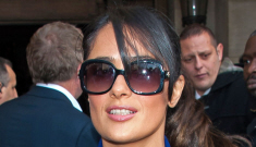Salma Hayek was once really poor, but 'I was very much   into Chanel at the time'